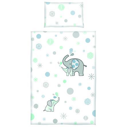 bebe-jou® design Bettwäsche Ollie grau 100x135 cm