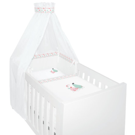 bebe-jou® design 4 tlgs. Bettset Blush Baby  bebe-jou rosa, pink
