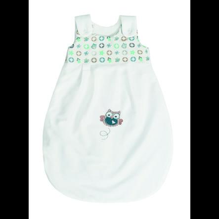 bebe jou® design - sacco a pelo per tutto l'anno Gufo Family mint
