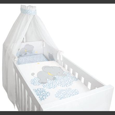 bebella vital sänkysetti 4-osainen, lunafantti sininen