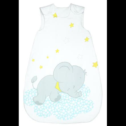 bebella vital Ganzjahresschlafsack Lunafant blau