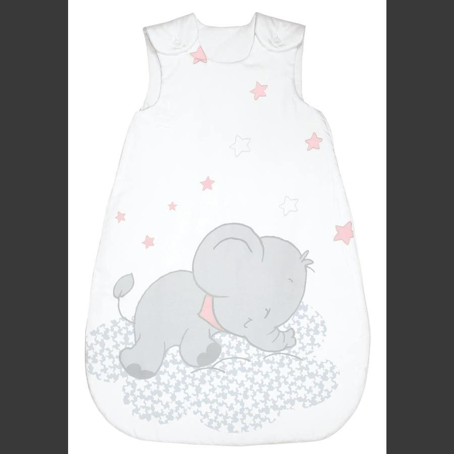 bebella vital Ganzjahresschlafsack Lunafant rosa
