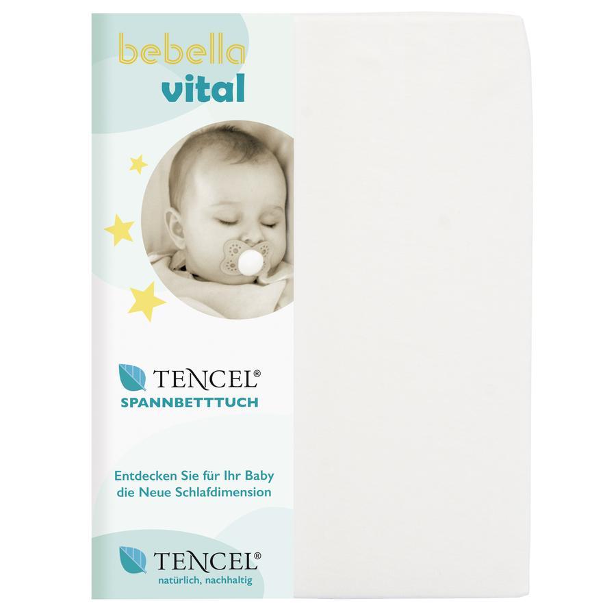 bebella vital Drap housse enfant 40x90 cm blanc