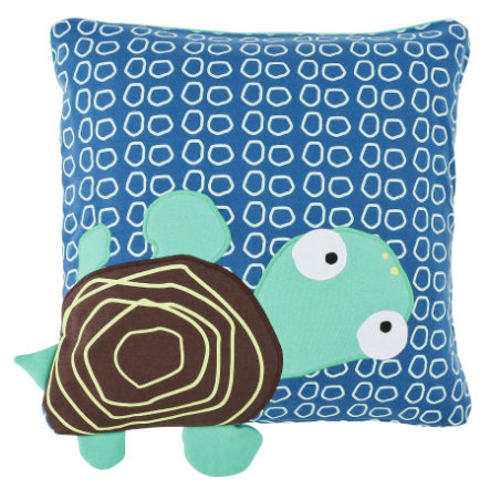 LÄSSIG 4Kids Coussin Cushion Wildlife Turtle