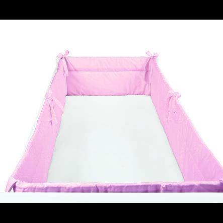 SONNE kulaté hnízdo Uni 32x420cm růžové