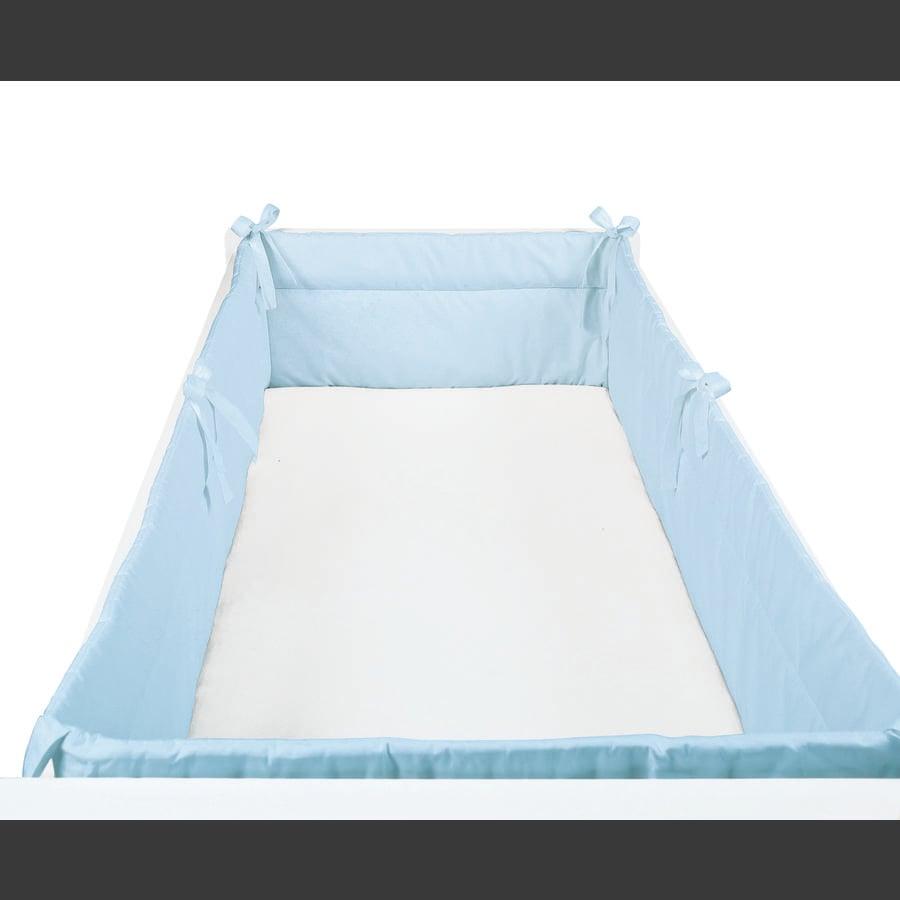 SONNE Rundumnestchen Uni 32x420cm blau