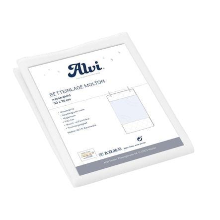 Alvi® Alèse bébé mousseline/mousseline 50x70 cm