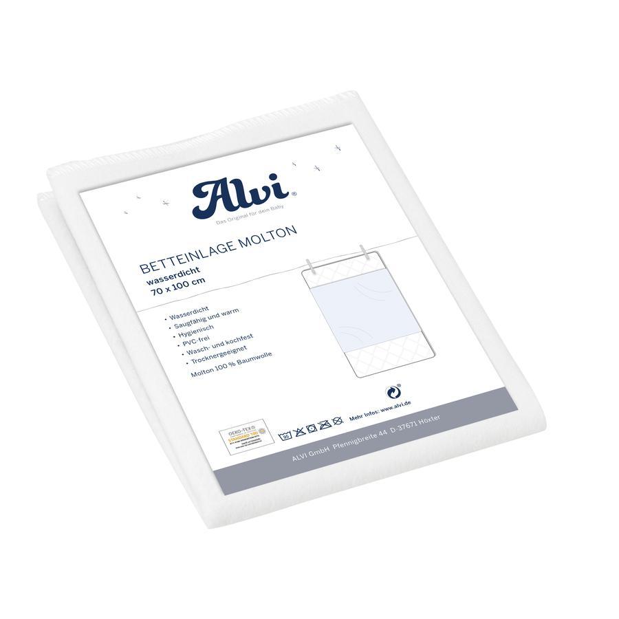 Alvi® Alèse bébé mousseline/mousseline 70x100 cm