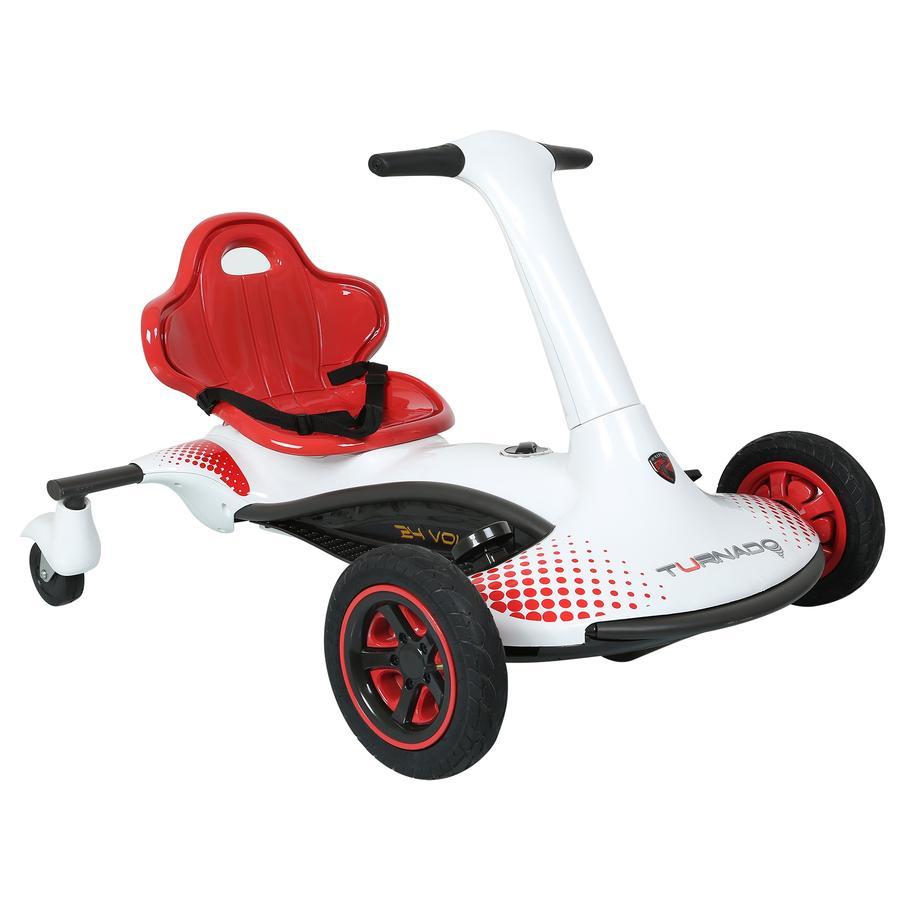 ROLLPLAY Turnado Drift Racer 24V, weiß -