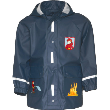 Playshoes Regen-Mantel Feuerwehr