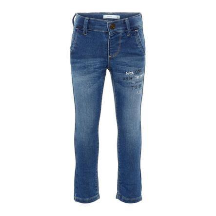 name it Boys Jeans Nmmsilas Azul Medio Denim