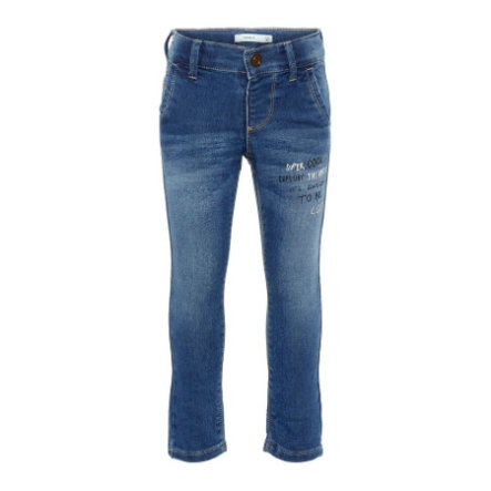 name it Boys Jeans Nmmsilas Medium Blue Denim