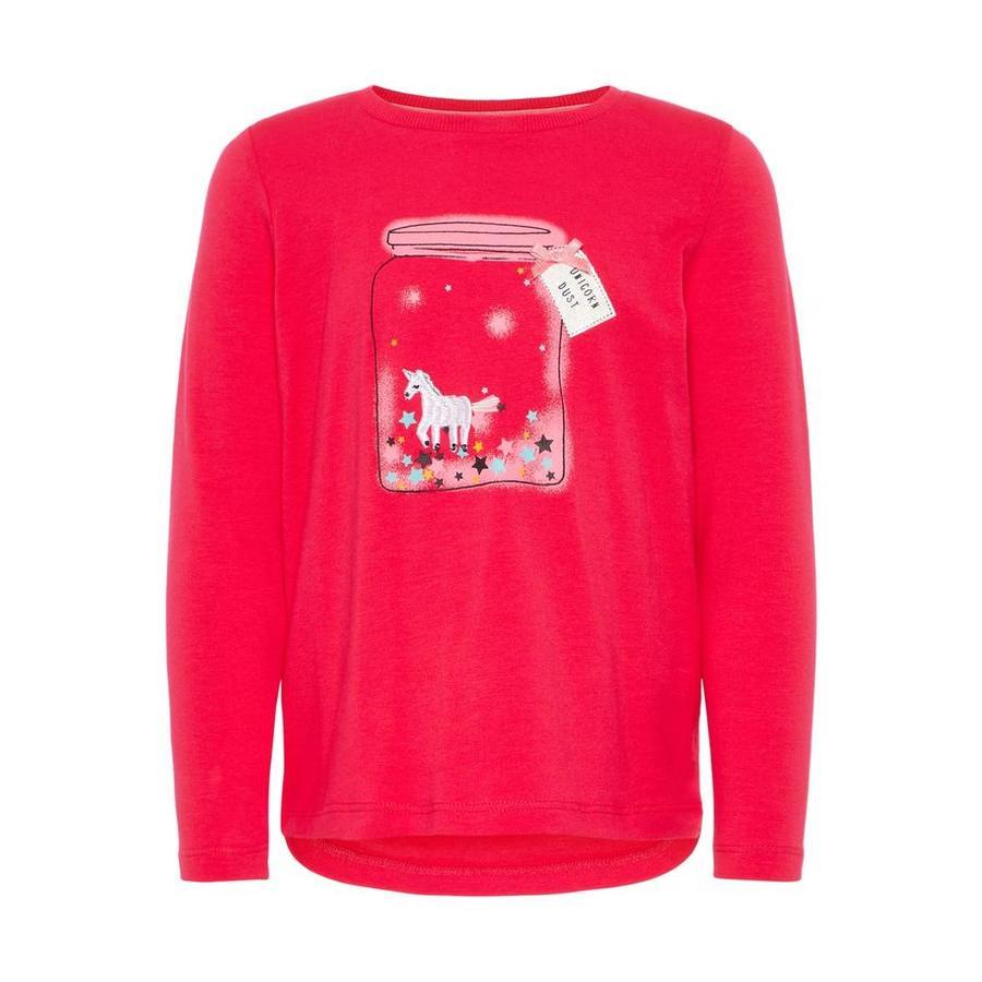 name it Girl s lange mouw shirt Racorn virtueel roze