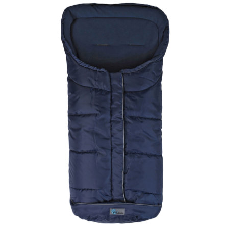 ALBA BEBE Winter Footmuff Standard with ABS (2203) navy - deep blue uni, Collection 2013/2014