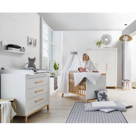 Schardt Kinderzimmer Miami White 3-türig