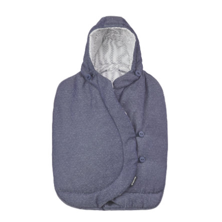 MAXI COSI Saco cubrepiés para portabebés Sparkling azul