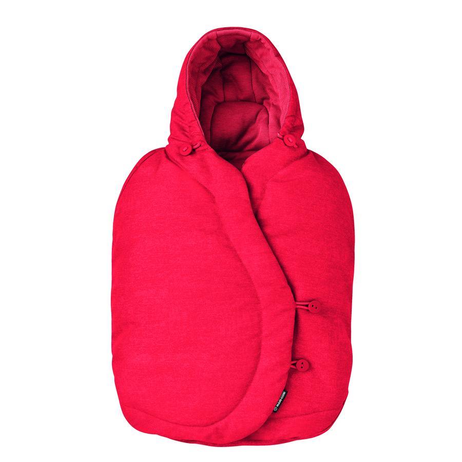 MAXI COSI Saco cubrepiés para portabebés Nomad Red