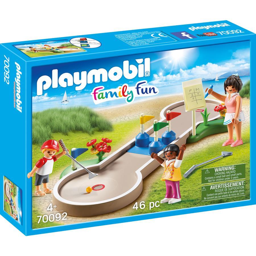 PLAYMOBIL® Family Fun Minigolf 70092