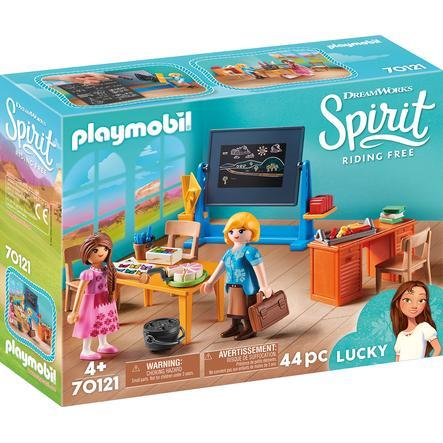 Playmobil 70121 Školní třída s učitelkou Flores