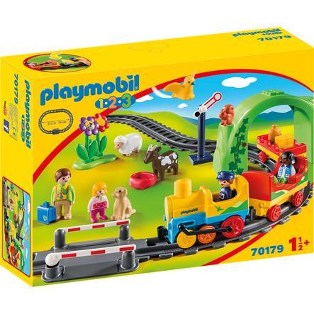 PLAYMOBIL 1 2 3 La mia prima ferrovia 70179