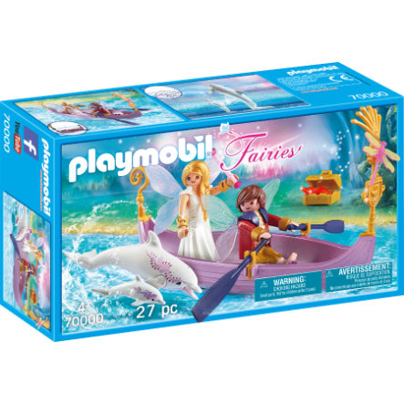 PLAYMOBIL® Fairies Barca romantica delle Fate