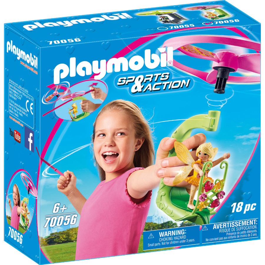 PLAYMOBIL SPORT S & Pull ACTION Fairy String Flyer