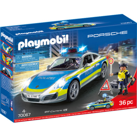 Playmobil 70067 Porsche 911 Carrera 4S Policie