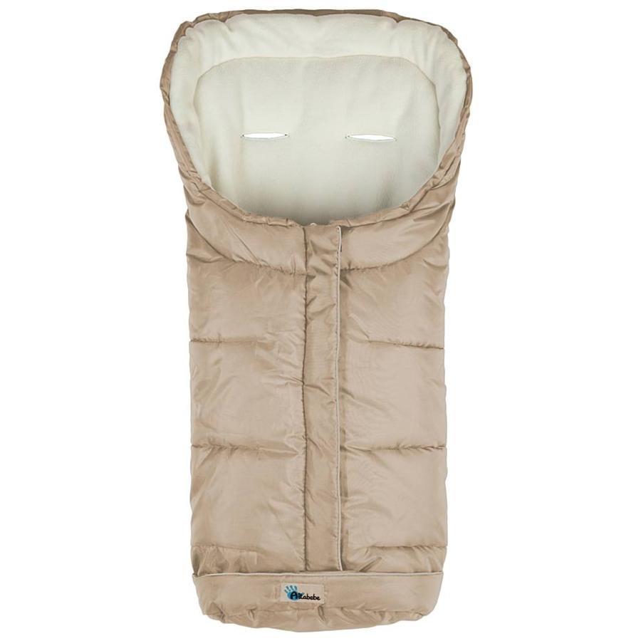 Altabebe Winterfußsack Active mit ABS beige-whitewash