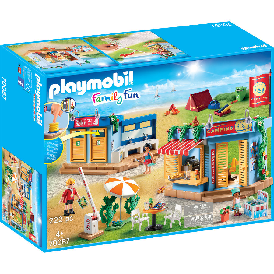 PLAYMOBIL Family Plezier Grote Camping 70087