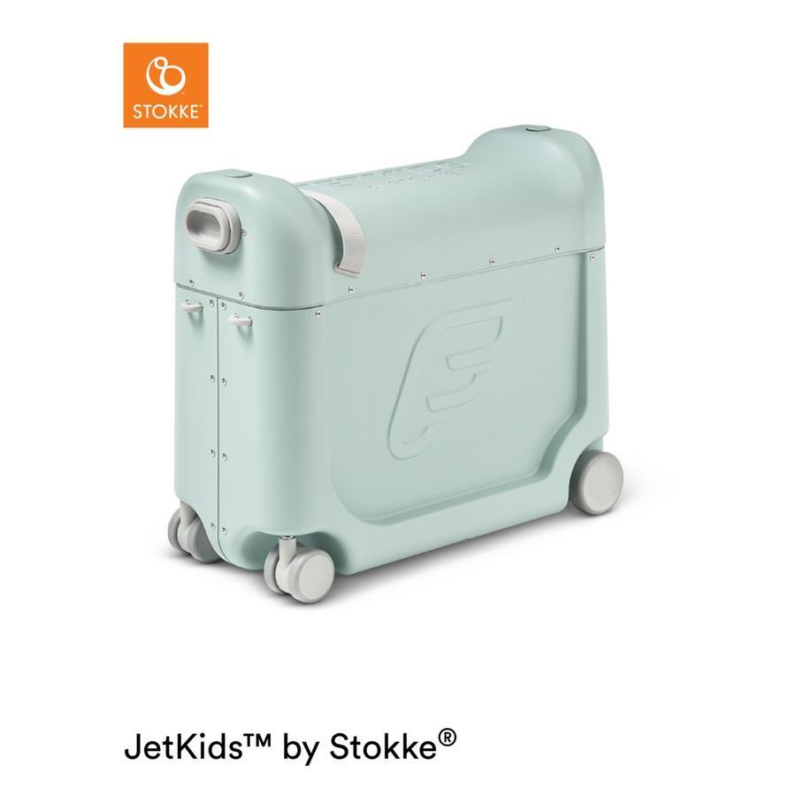 JetKids by Stokke® Lit bébé valise avion BedBox aurore vert
