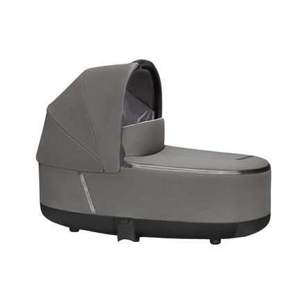 cybex PLATINUM Kinderwagenaufsatz Priam Lux Carry Cot Manhattan Grey