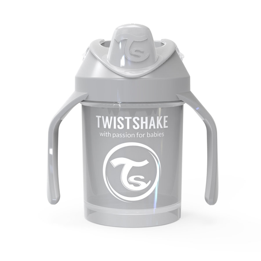 Twist shake Drink cup Mini Cup 230ml pastelově šedá