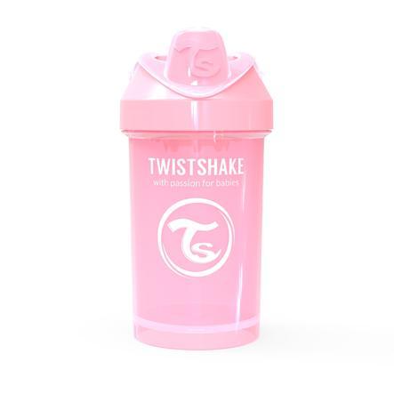 Twist shake Taza de bebida Crawler 300ml pastel l rosa