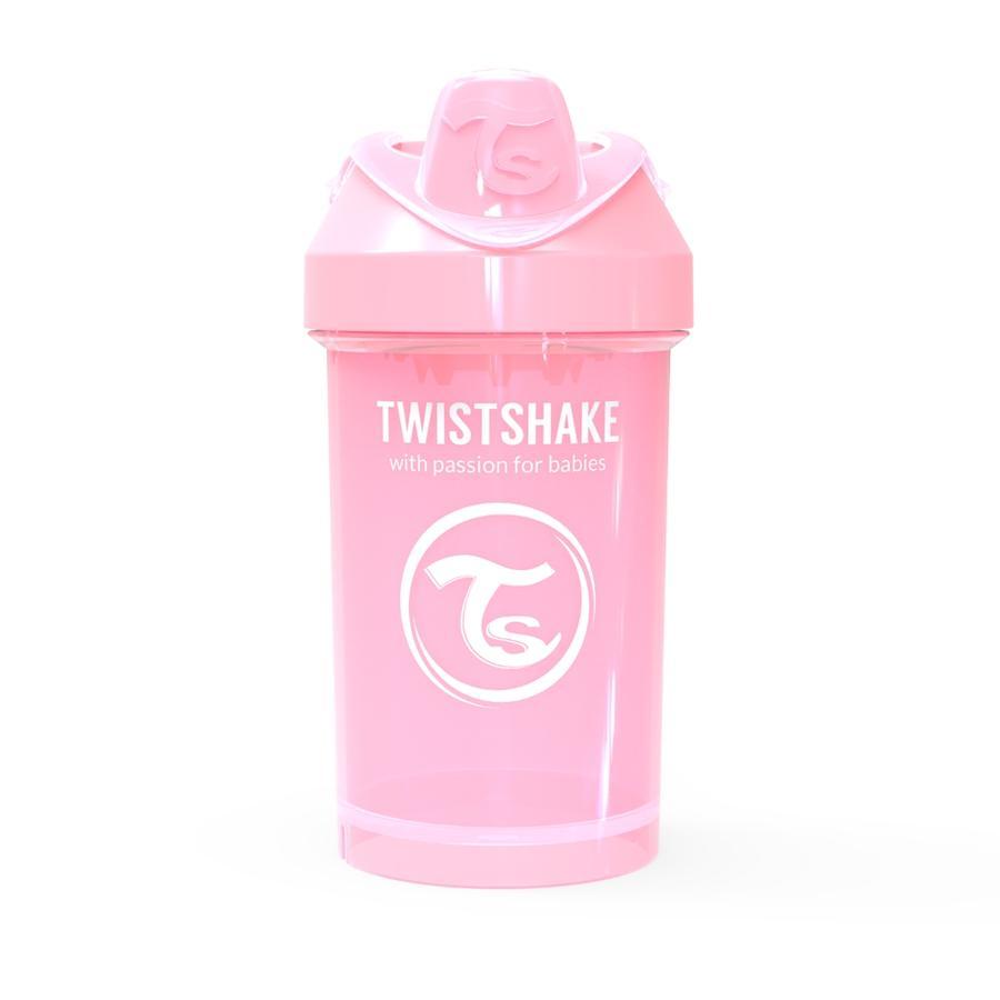 TWISTSHAKE Trinkbecher Crawler Cup 300 ml in pastell rosa