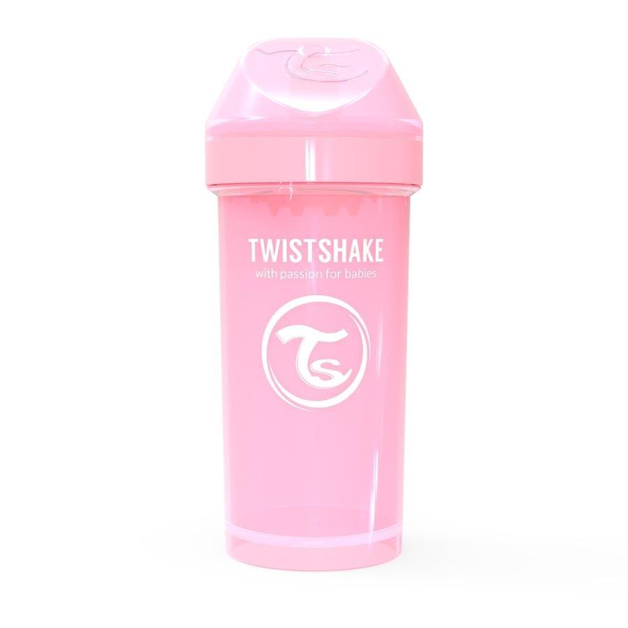 Twist shake Drinkbeker Kid Cup Kid Cup 360ml pastel l roze