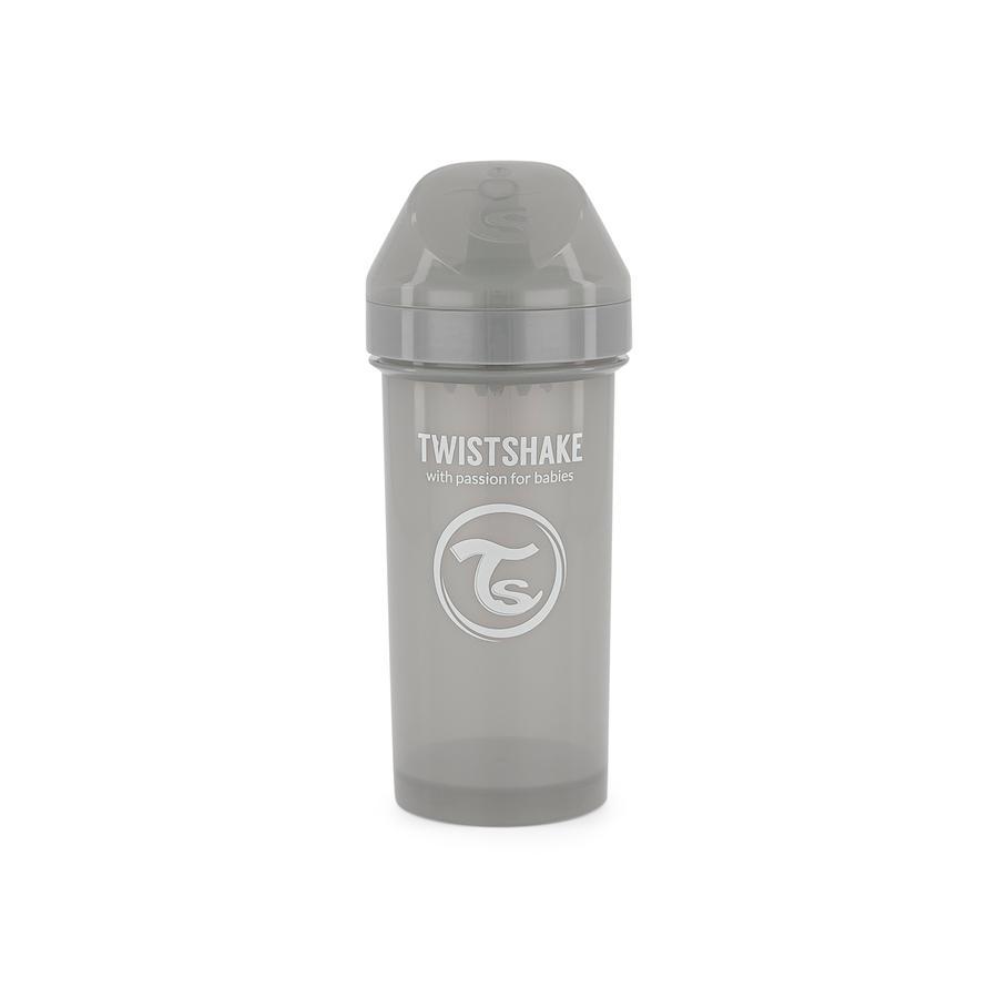 Twistshake Trinkbecher Kid Cup 360ml pastell grau