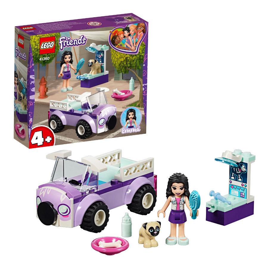 LEGO® Friends - La clinique vétérinaire mobile d'Emma 41360