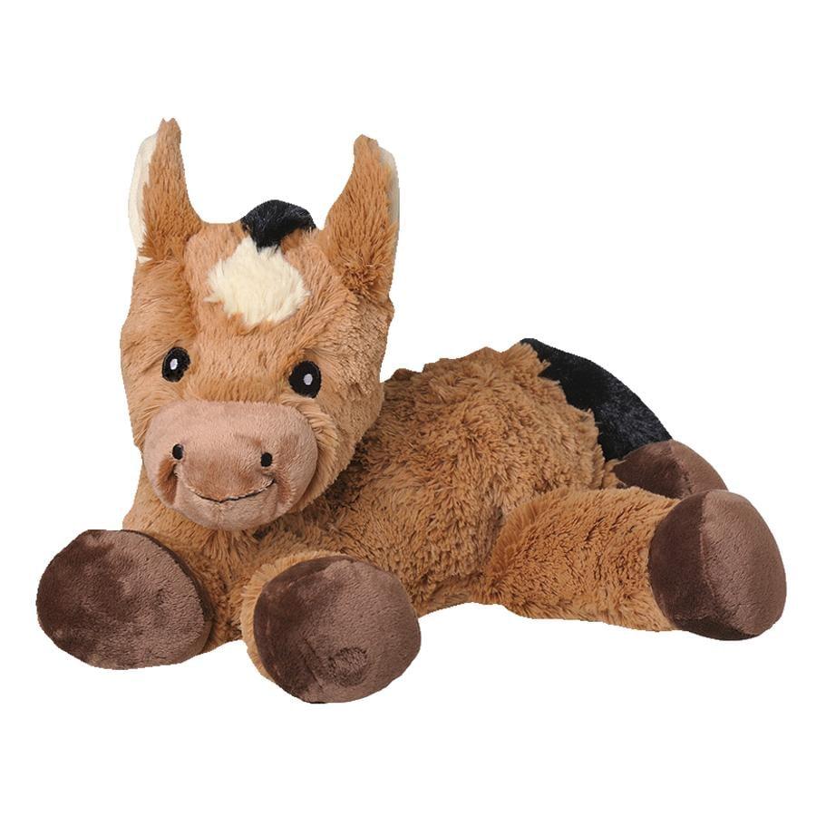 w ellie b ellie s ciepły, przytulny, zabawkowy koń.