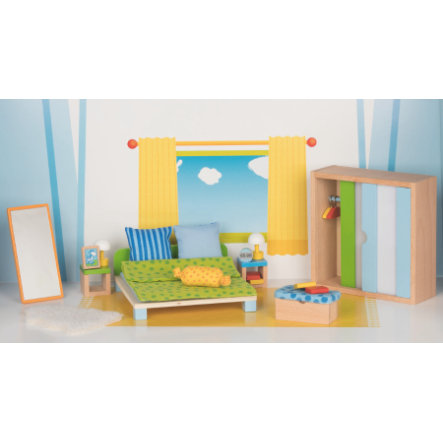 goki Meble dla lalki - sypialnia