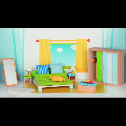 goki Mobili per casa delle bambole - Camera da letto