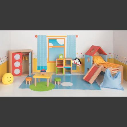 goki Meble dla lalki - pokój dziecięcy