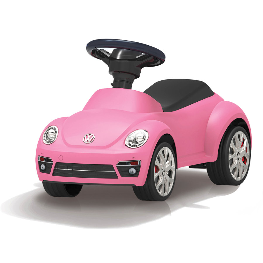 JAMARA Kids odrážedlo  - VW beetle, růžové