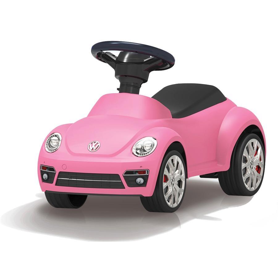 JAMARA Porteur enfant Kids VW Beetle, rose