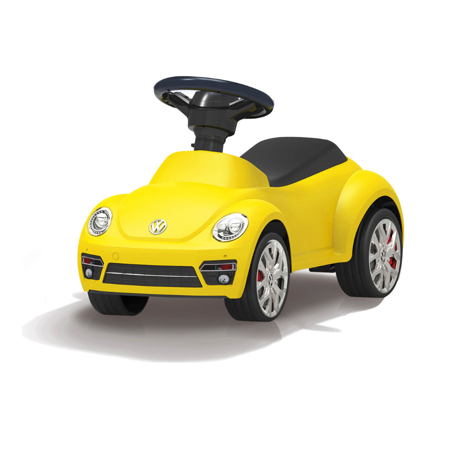 JAMARA Kids Loopauto - VW Beetle, geel
