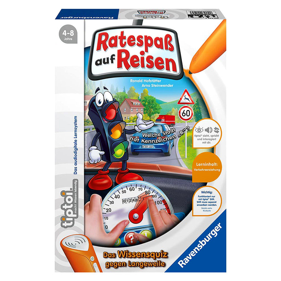 RAVENSBURGER tiptoi Ratespaß auf Reisen