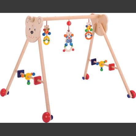 HEIMESS Baby-Fit Hrazdička dřevěná Medvídek