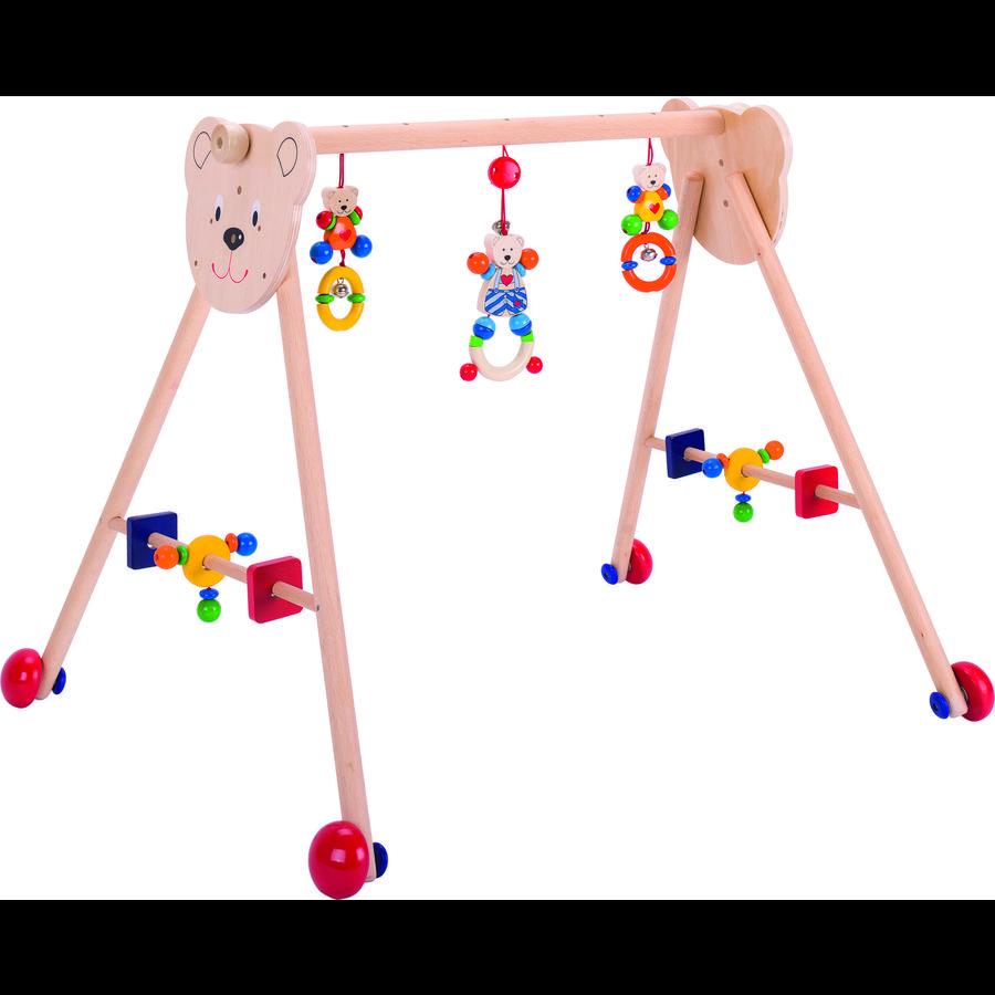HEIMESS Baby -Fit speeltrainer en loopstoeltje Herzbär