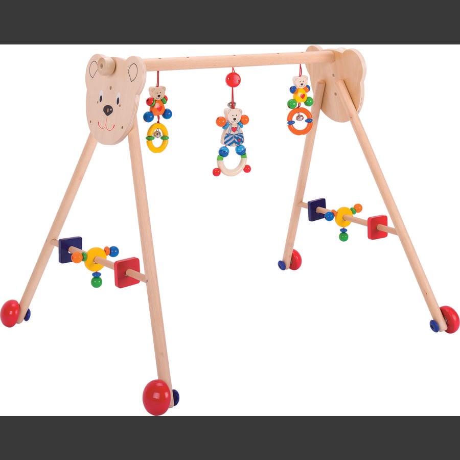 HEIMESS Baby-Fit Spieltrainer und Lauflernhilfe Herzbär