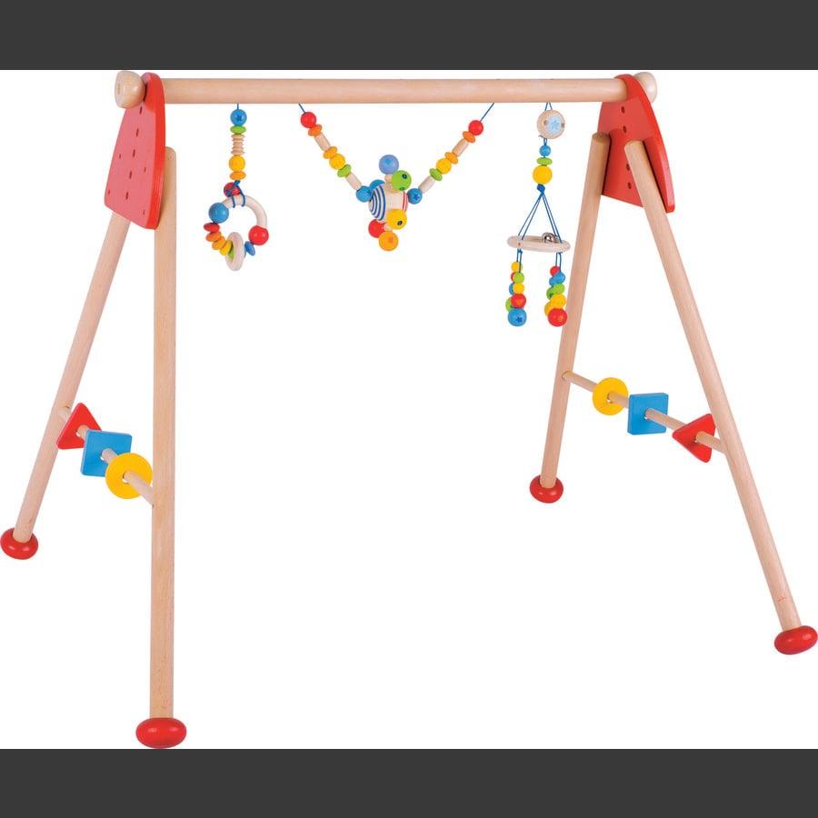 HEIMESS soft colors Baby-Fit Spieltrainer Regenbogen