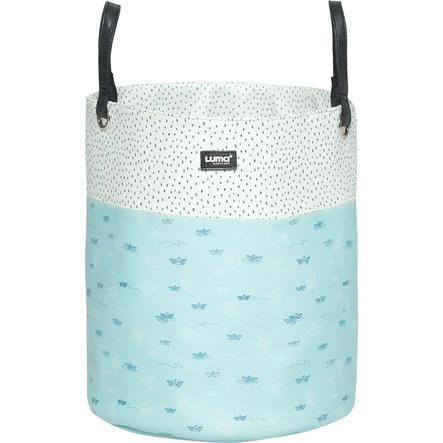 Luma® Babycare Panier rangement jouets Paper Boats bleu large